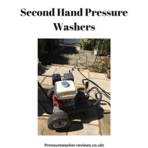 used pressure washer second hand power washer uk ireland wales scotland