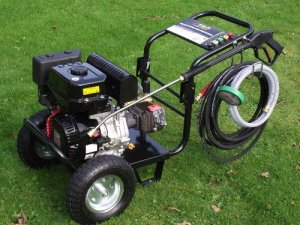 Kiam KM3700P petrol pressure washer industrial commercial agricultural review