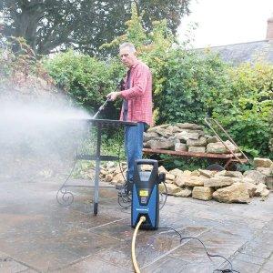 silverline 102580 pressure washer review garden furniture path driveway patio garage bike car van