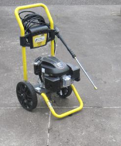 waspper w3100va pressure washer review driveway patio garage