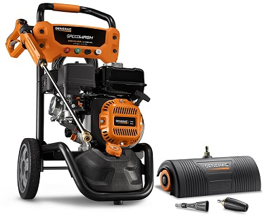 generac-6595-2500-psi-2-3-gpm-196cc-ohv-gas-powered-residential-pressure-washer-review