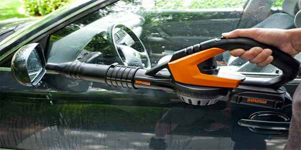 Leaf Blower to Dry Car
