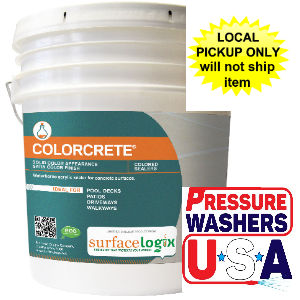 Colorcrete pigmented concrete sealer - 5 Gallon