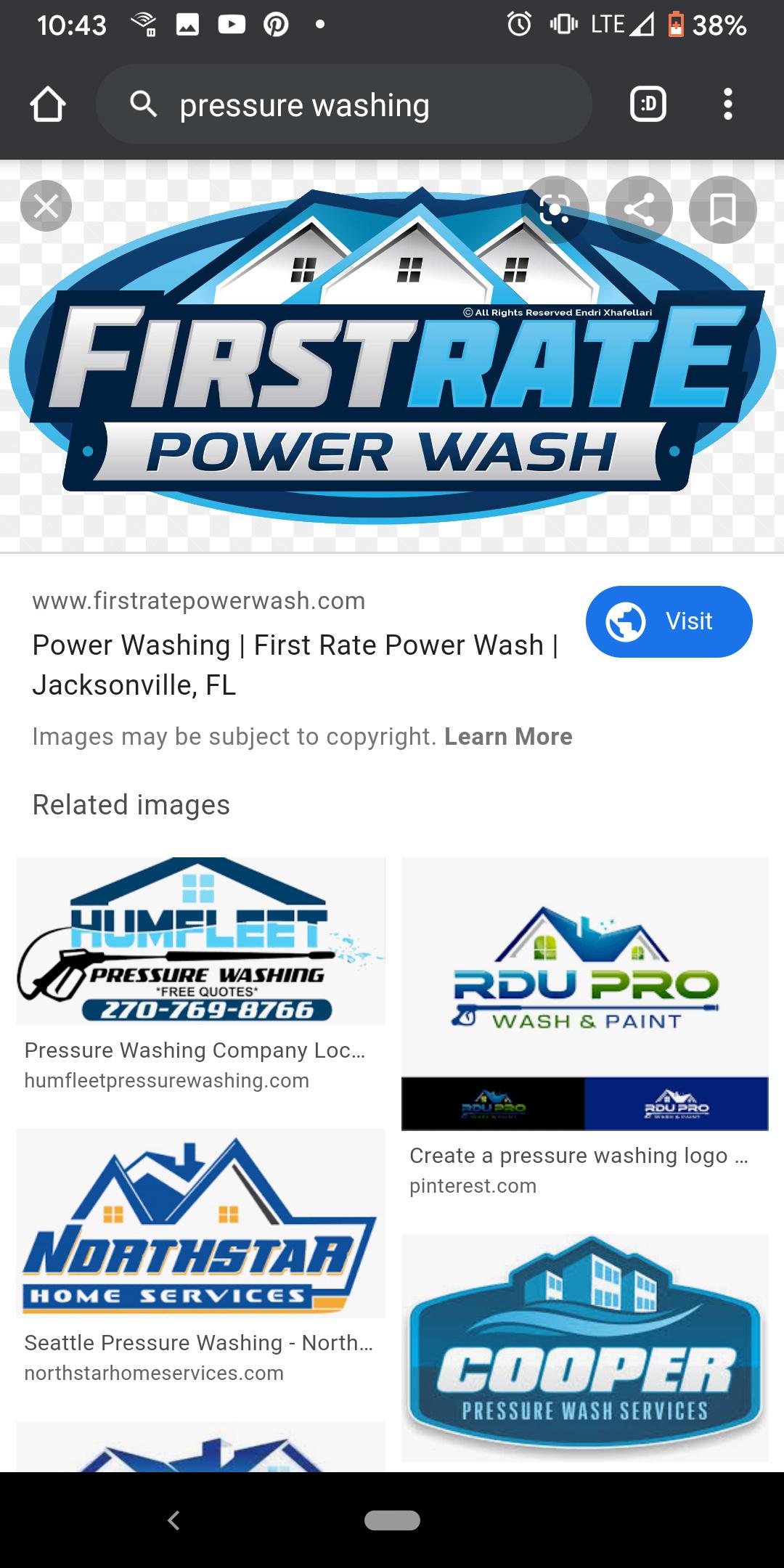 Logo Pressure Washing : pressure, washing, Opinion, Marketing, Pressure, Washing, Resource