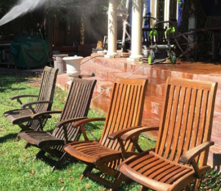 how to clean your outdoor patio