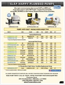 2019 Pressure Zone Parts 01 Pumps