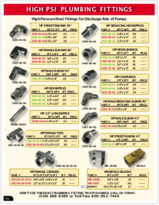 2019 Pressure Zone Parts 19 High PSI Plumbing
