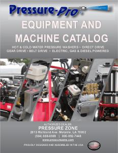 PP Equipment Machine