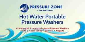 PZ pressure washers hot portable