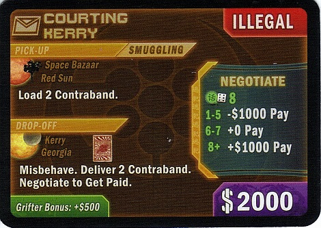 An example of a smuggling job.