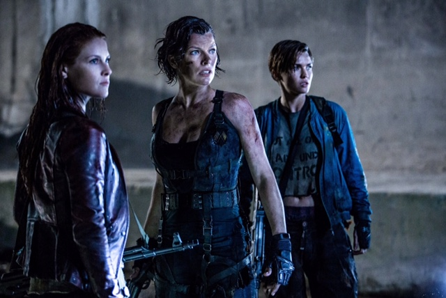 Ali Larter, Milla Jovovich and Ruby Rose star in Screen Gems' RESIDENT EVIL: THE FINAL CHAPTER.