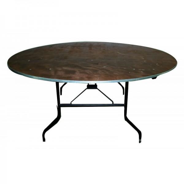 table ronde pliante o 200 cm 12 pers