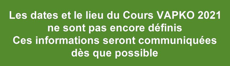 Cours 2021