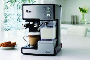 Oster Prima Latte - Cafetera espreso con tratamiento de leche