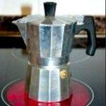 Cafetera italiana y ahooro de energía