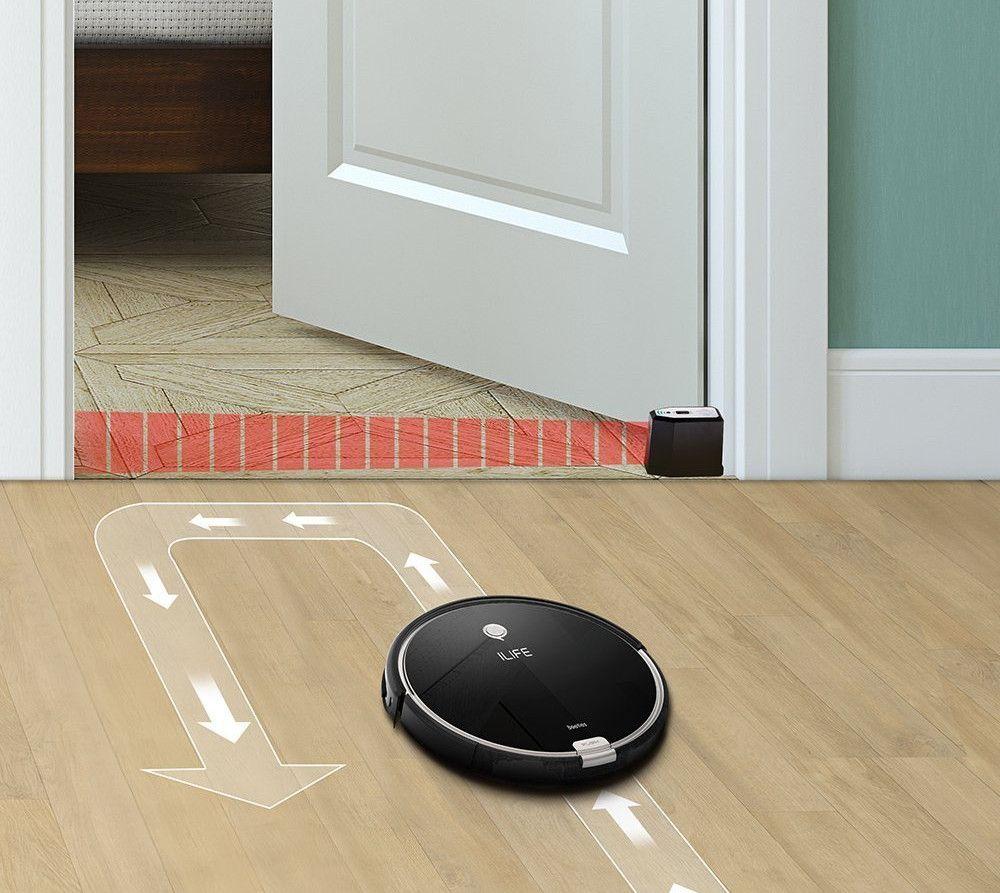 ILIFE A6 Robot Aspirador-virtual wall-funcionamiento