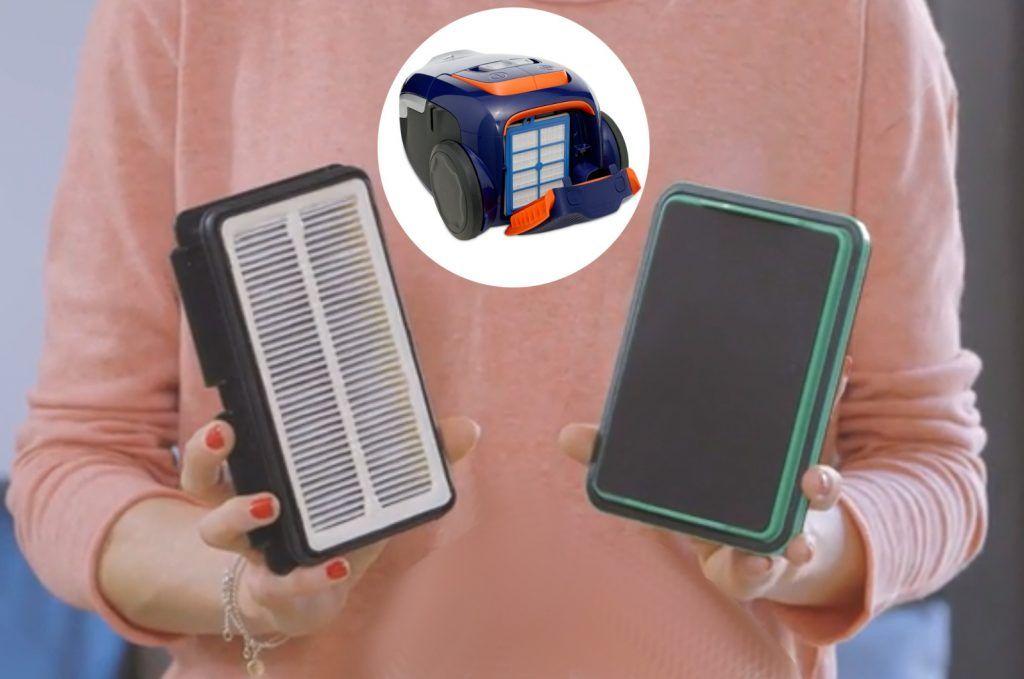 comprar aspirador trineo tipos de filtros-hepa