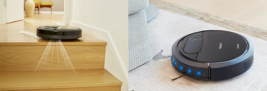 robot aspirador problemas con los sensores