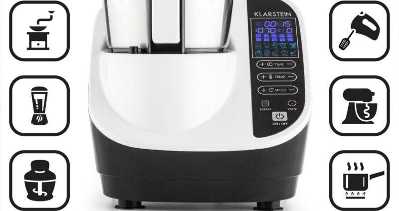 Robot de cocina funciones