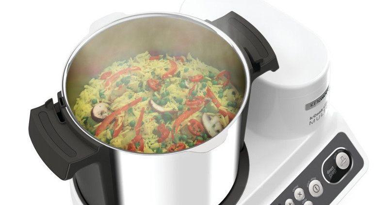Robot de cocina rapidez