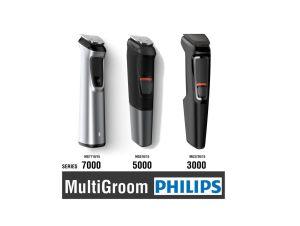MULTIGROOM PHILIPS mg series 3000 5000 7000 COMPARATIVA