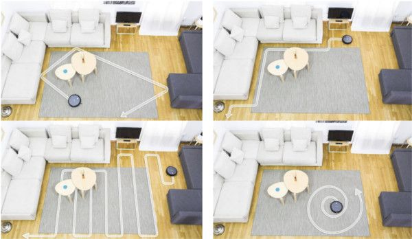 roomba vs conga excellence cecotec modos de limpieza