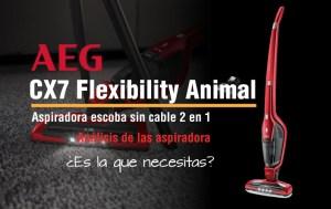 AEG CX7 Flexibility Animal-precio opiniones valoracion