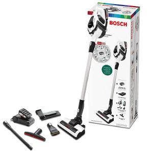 Bosch BBS1224 Unlimited Aspirador sin Cable con Autonomía Ilimitada, Batería Intercambiable