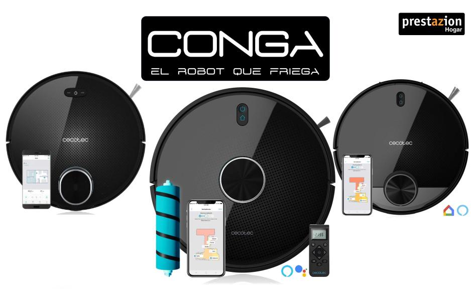 ROBOT ASPIRADOR CONGA comparativa 4090