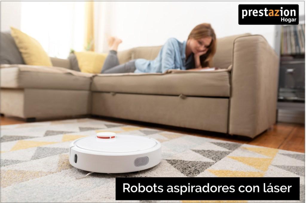 robot aspirador con laser inteligente