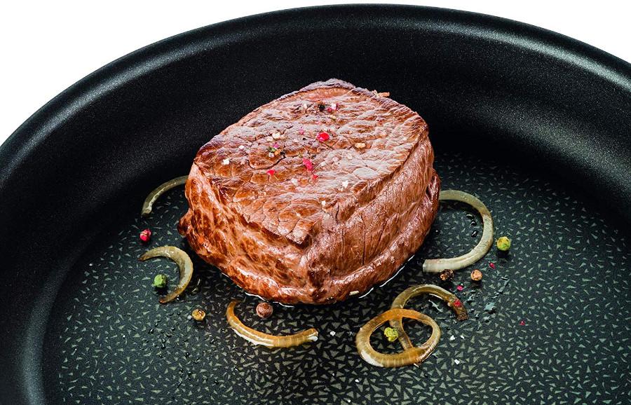 Tefal titanium excellence en sartén expertise (carne a la plancha )