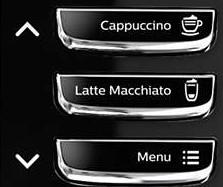 Cafeteras que regulan la cantidad de leche series 5000
