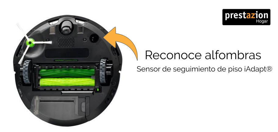 Robot-roomba-Sensor-de-seguimiento-de-piso-iAdapt