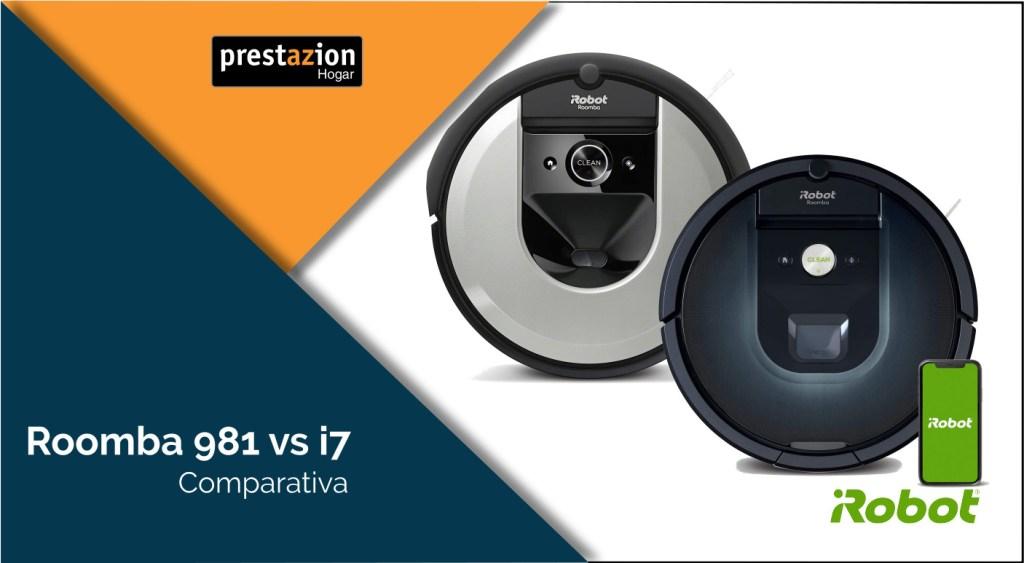 Roomba i7156 vs 981 / 980: las 7 diferencias