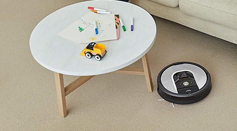 Roomba 971 aspirar alfombras y moqueta