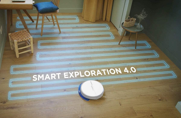 tecnologia giroscopio Rowenta serie 60 smart exploration 4.0