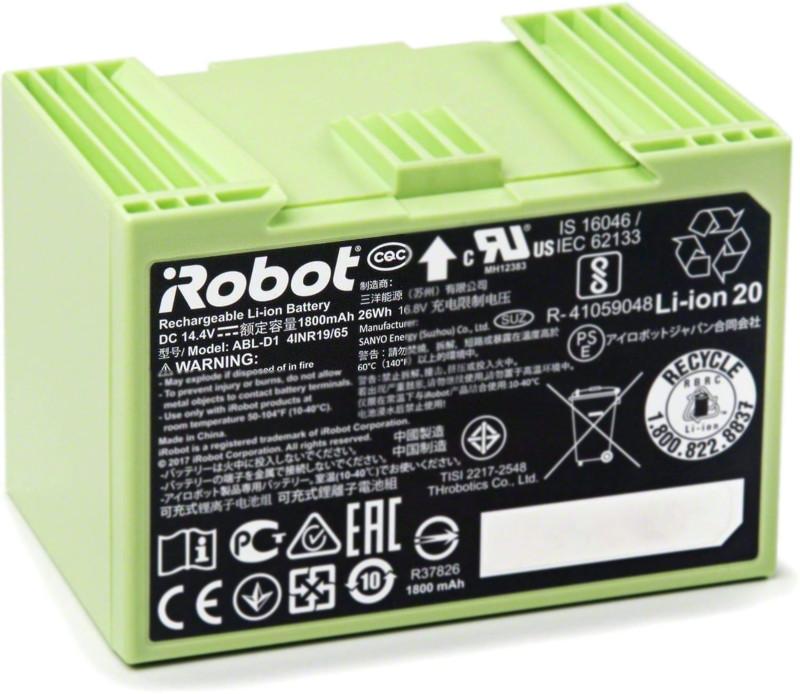 Roomba i7 batería li-ion 1800 mAh