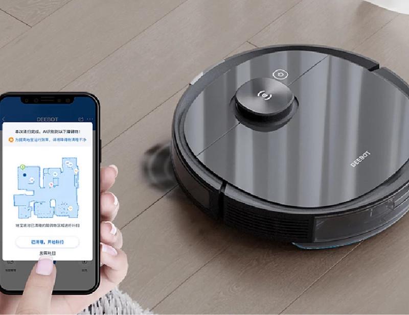 App robot deebot ozmo pro T8 AIVI