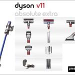 aspiradoras dyson v11 extra absolute con accesorios