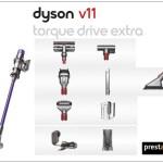 aspiradoras dyson v11 extra torque drive con accesorios