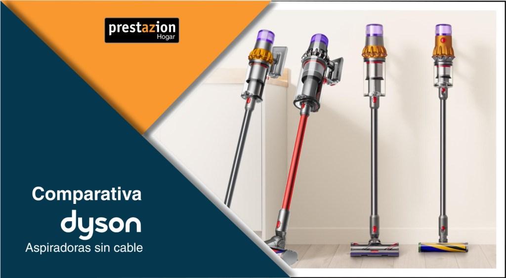 aspiradoras Dyson sin cable Comparativa