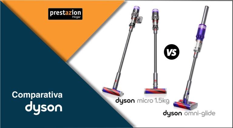 aspiradoras dyson micro vs omni glide