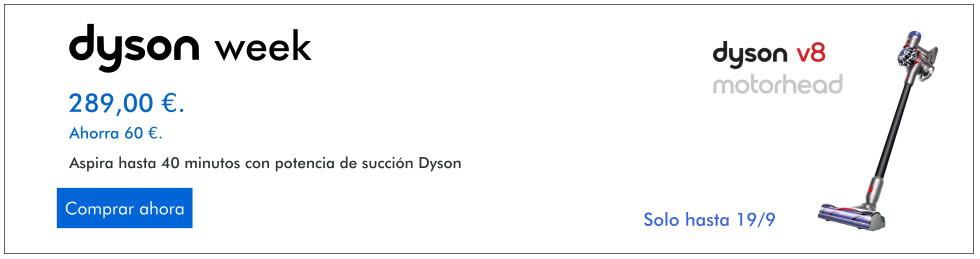 ofertas aspiradoras dyson week