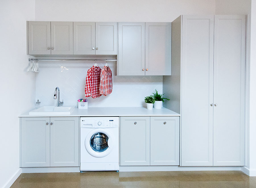 Laundry Cabinetry  Prestige Cabinets