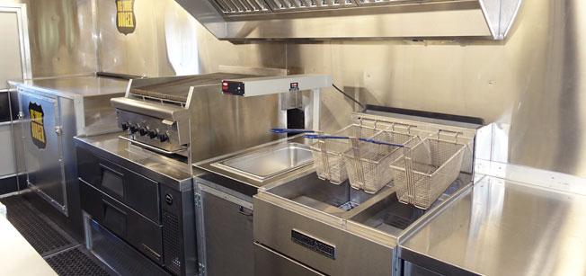 food truck kitchen equipment hood filters custom builder & manufacturer | trucks for ...