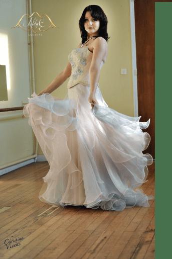 robe de mariage Bordeaux Lolita C. Atelier Prestige