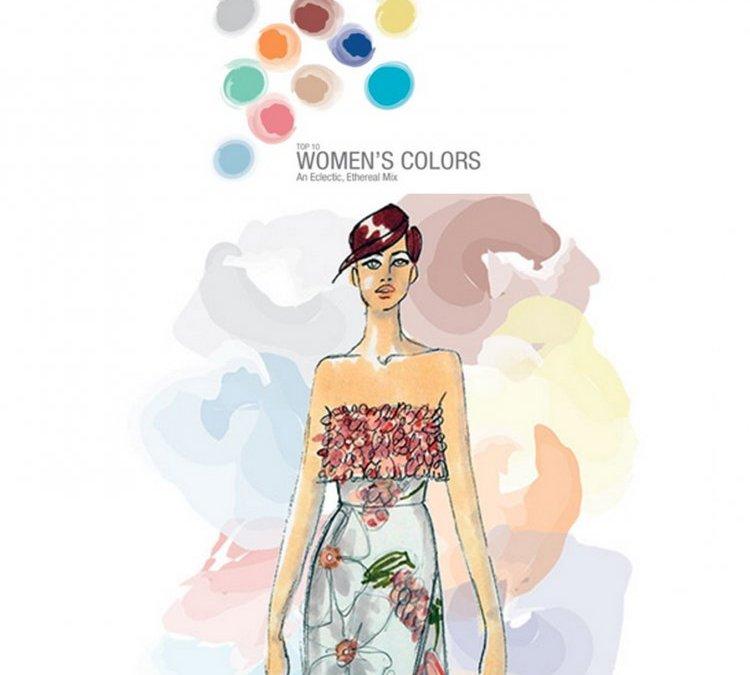 Les couleurs du printemps-été 2015