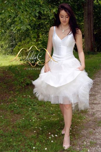 Création de robe de mariée et de robe de cocktail Lolita C. Bordeaux