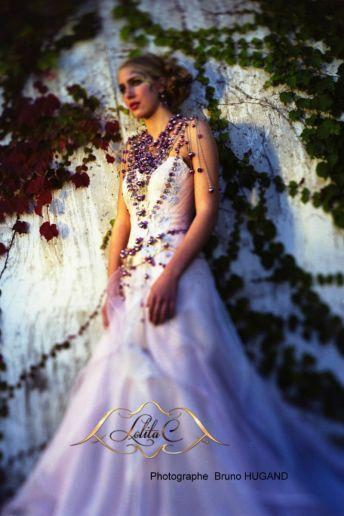 Robe Guimauve robe sur mesure Lolita C nature