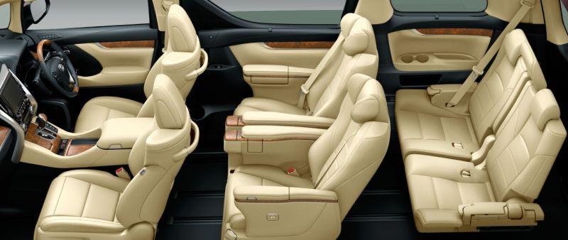 harga all new alphard executive lounge grand avanza veloz 2017 toyota hybrid and vellfire 30 series import model seat colour
